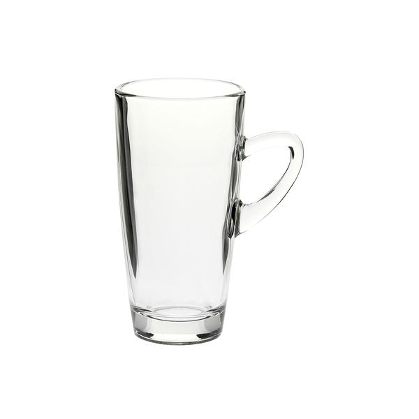 Glass Coffee Mug Slim 320ml Kenya (Pack 6)