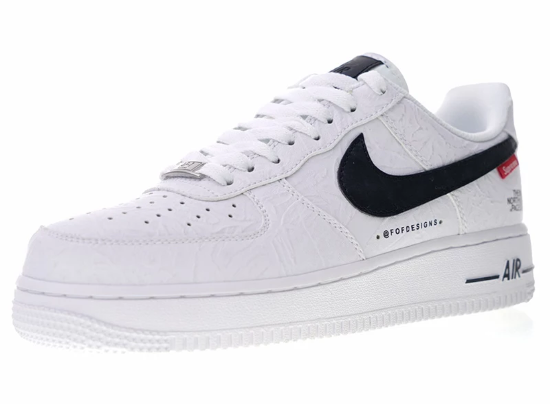 b74a1daf35a Nike Air Force 1 Supreme Edition – Black Shoes