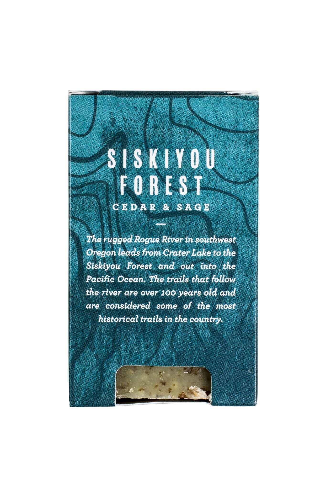 United by Blue Siskiyou Forest Rogue Soap - Cedar & Sage