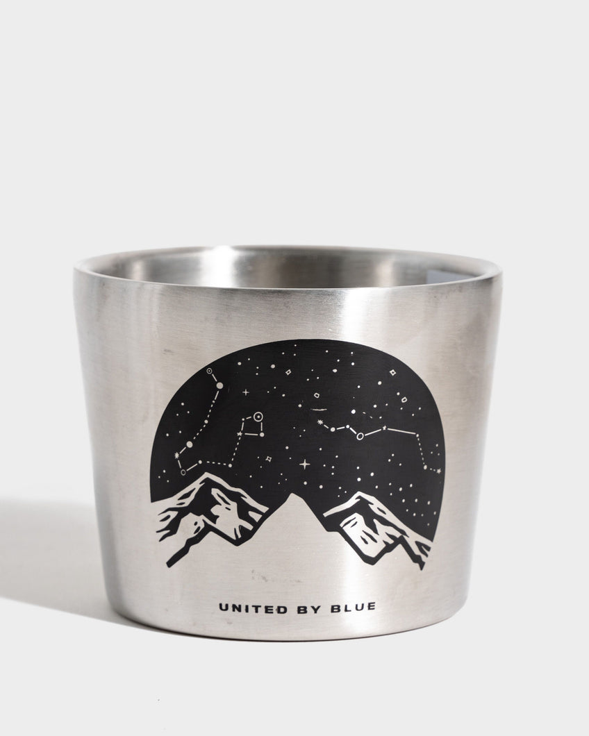 United By Blue Lunar Mountains 12oz Compass Cup