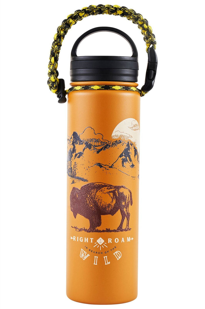 United By Blue Right to Roam 22 oz. Insulated Steel Water Bottle