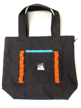 Load image into Gallery viewer, Split Tote Bag - Black