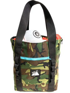 Split Tote Bag - Camo