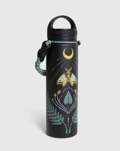 Load image into Gallery viewer, United By Blue Lunar Moth 22 oz. Insulated Steel Water Bottle