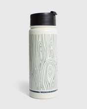 Load image into Gallery viewer, United By Blue Woodgrain 18 oz. Travel Bottle
