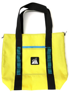 Split Tote Bag - Canary