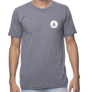 Unisex Circle Bison Frontier T-Shirt - Slim Fit