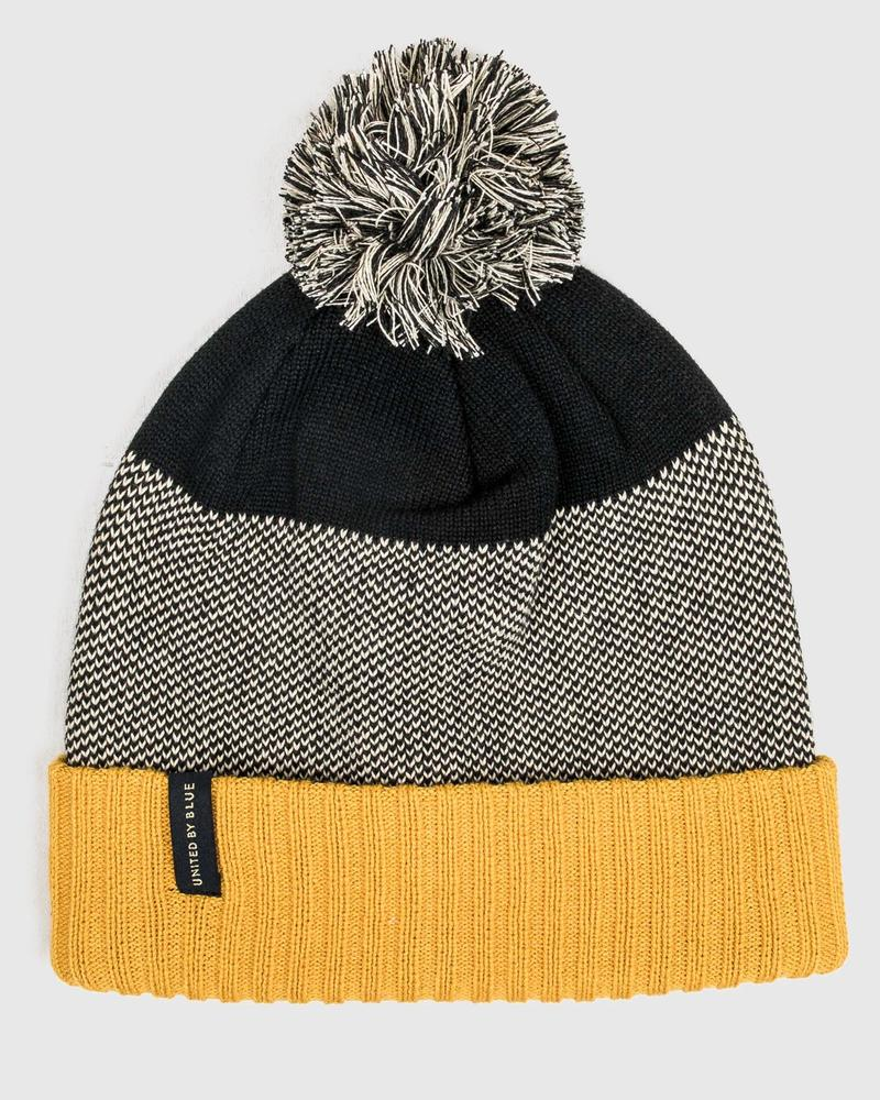 United By Blue Birdseye Pom Beanie