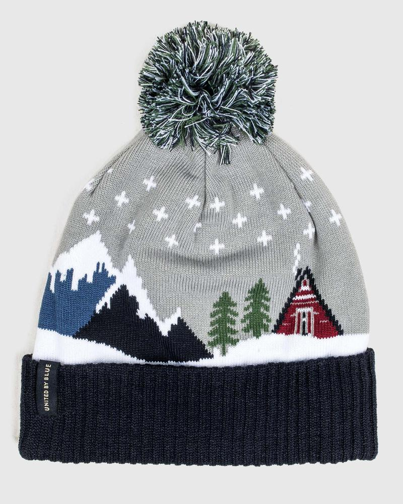 United By Blue Cabin Pom Beanie