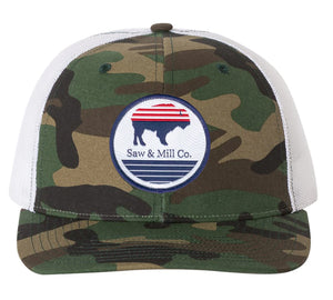 Bison Plains Hat - Camo