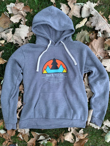 Unisex Mountain Scape Hoodie - Slim Fit