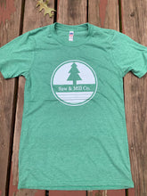 Load image into Gallery viewer, Unisex Circle Logo T-shirt - Green