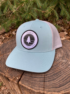 Saw & Mill Logo Hat - Smoke Blue