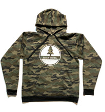 Load image into Gallery viewer, Camo Circle Logo Hoodie