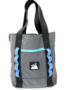Split Tote Bag - Charcoal