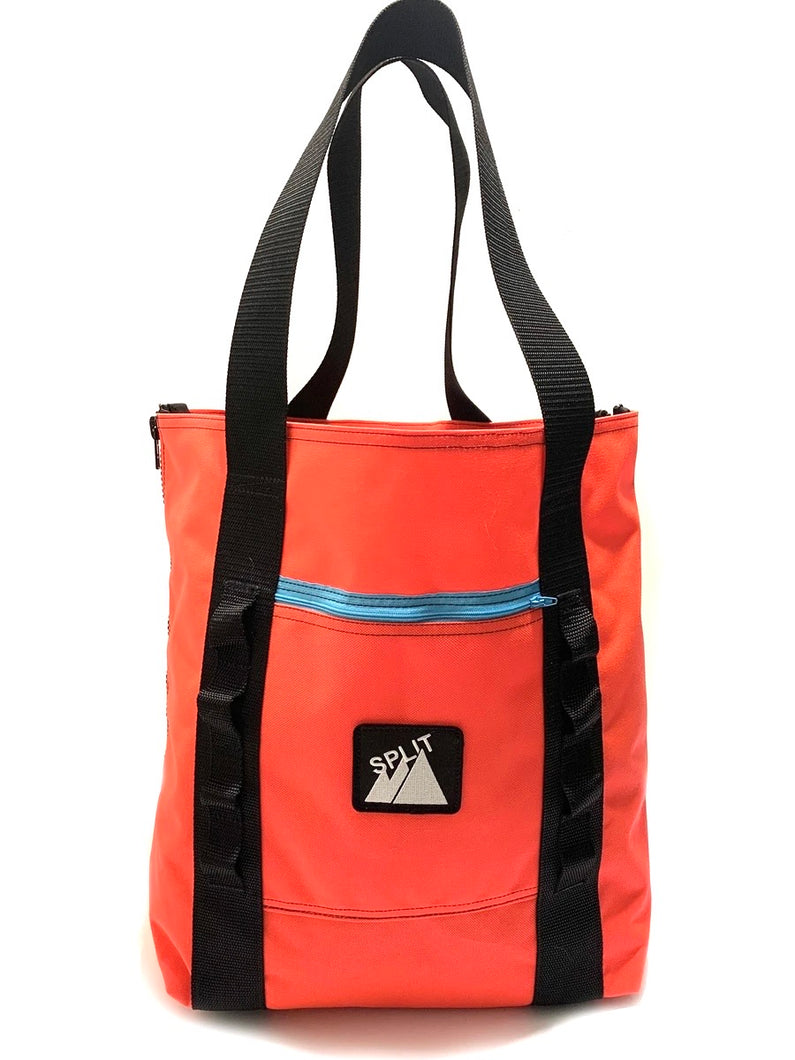 Split Tote Bag - Blaze