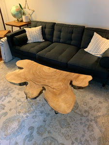 Slabbed Coffee Table with Hair Pin Legs
