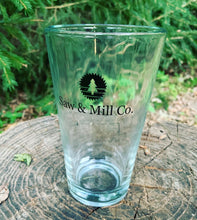 Load image into Gallery viewer, Saw & Mill Co. 16 oz Pint Glass