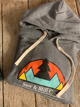 Load image into Gallery viewer, Unisex Mountain Scape Hoodie - Slim Fit