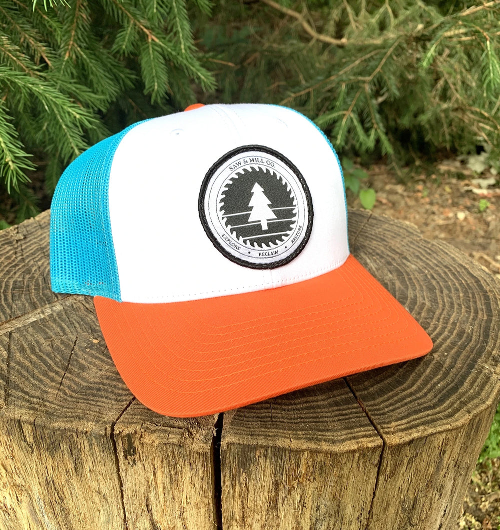 Saw & Mill Logo Hat - Surf