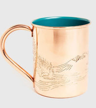 Load image into Gallery viewer, United By Blue Enamel Lined Copper Mug