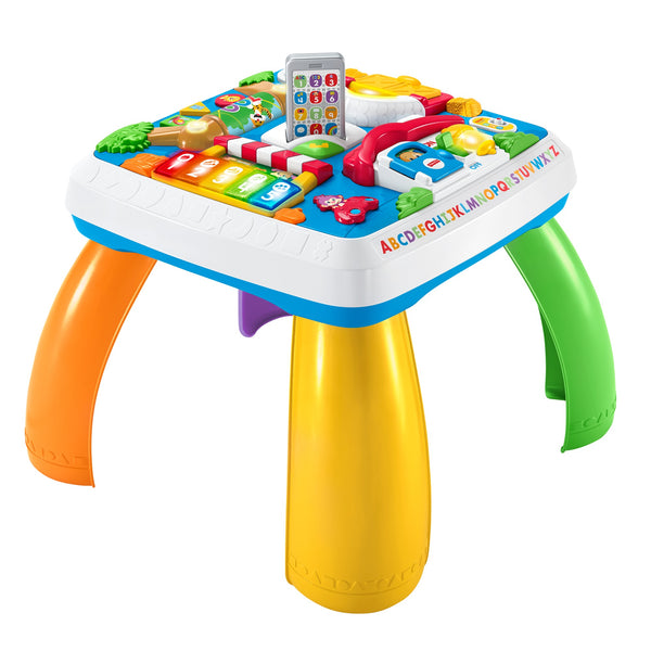 Fisher-Price Laugh & Learn Around the Town Learning Table Via Walmart