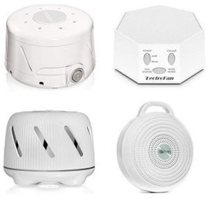 Save up to 30% on select white noise sound machines At Amazon