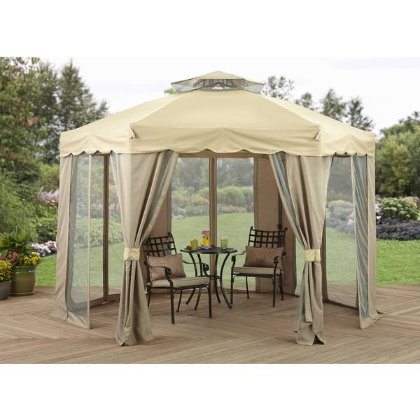 Better Homes & Gardens 12' x 12' Gilded Grove Gazebo Via Walmart