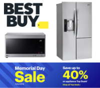 Best Buy Memorial Day Sale: Up to 40% off Appliance Top Deals
