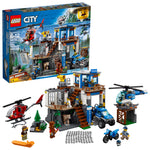 LEGO City Police Mountain Police Headquarters Via Walmart