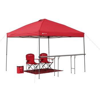Ozark Trail 10' x 10' Lighted Tailgate Instant Canopy Combo Via Walmart