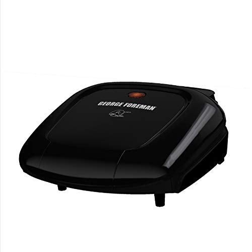 George Foreman GR0040B 2-Serving Classic Plate Grill Via Amazon
