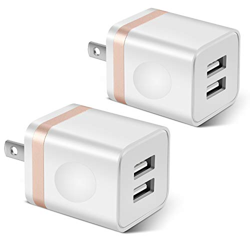 STELECH USB Wall Charger, 2-Pack Via Amazon