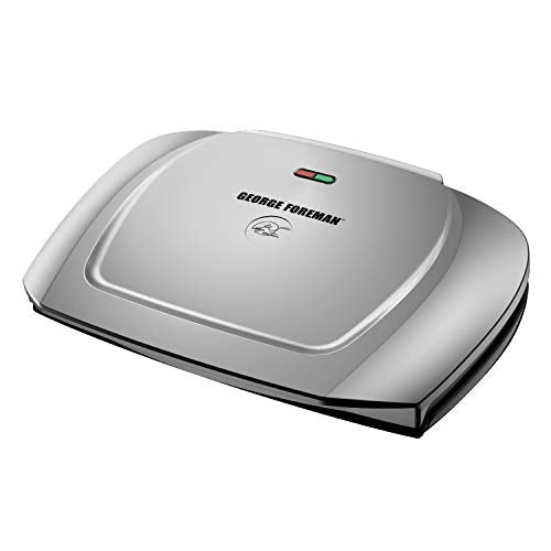 George Foreman 9-Serving Basic Plate Electric Grill and Panini Press Via Amazon