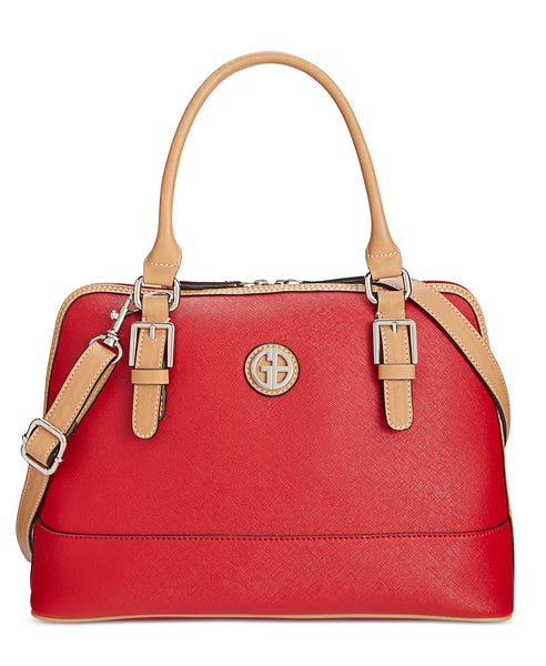 Giani Bernini Saffiano Dome Satchel Via Macy's SALE $29.85 + Free Store Pickup! (Reg $99.50)