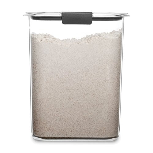 Rubbermaid Container,  16 Cup Brilliance Pantry Airtight Food Storage Flour Via Amazon