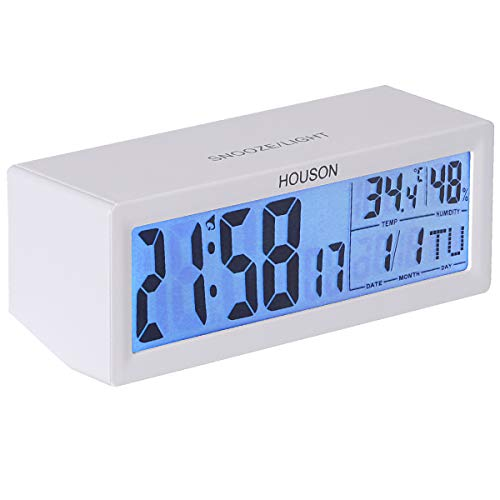 Digital Alarm Clock, Volume Adjust, Nightlight, Temperature, Date, Via Amazon