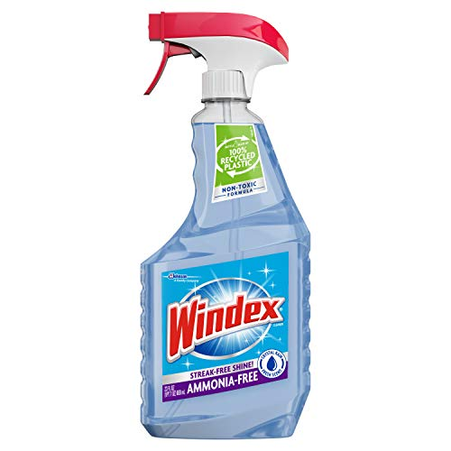 Windex Ammonia-Free Glass Cleaner Via Amazon