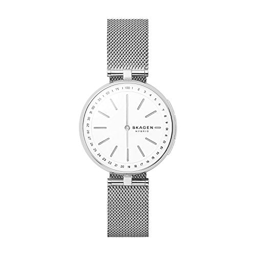 Skagen Connected Women's Stainless Steel Mesh Hybrid Smartwatch Via Amazon