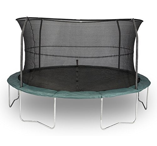 ORBOUNDER Trampoline & Enclosure Combo (6 Legs/4 Poles), 14'