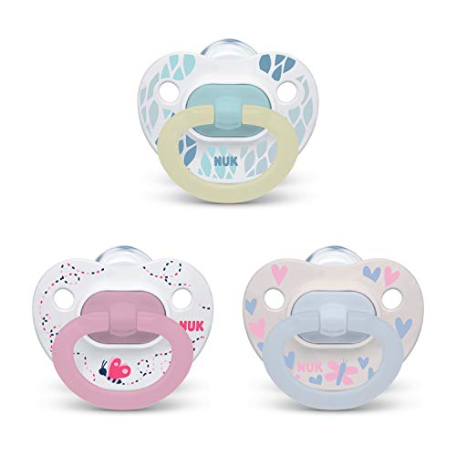 NUK Orthodontic Pacifier Value Pack,  3-Pack Via Amazon