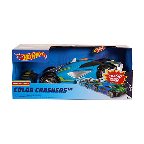 Hot Wheels Race N Crash Mach Speeder Via Amazon