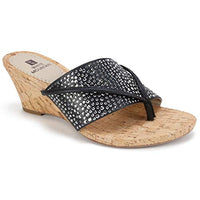 WHITE MOUNTAIN Women's Alexandria Sandal Via Amazon