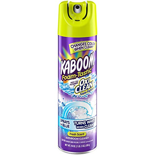 8 pack Kaboom Foam-Tastic with Oxiclean Fresh, 19 Ounce Via Amazon