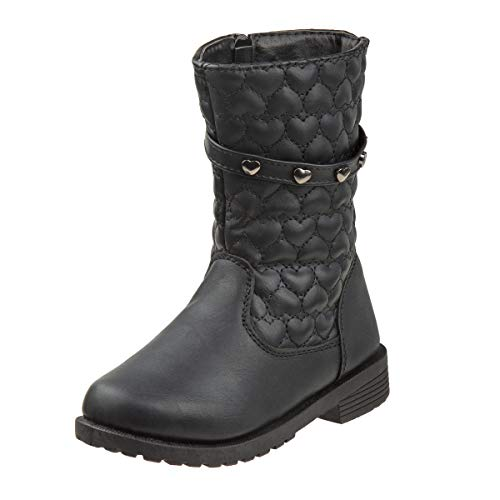 Rugged Bear Girls Mid Length Studded Boots Via Amazon