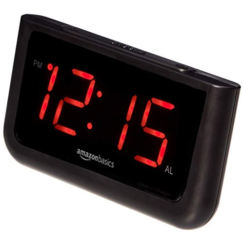 AmazonBasics Digital Alarm Clock Via Amazon