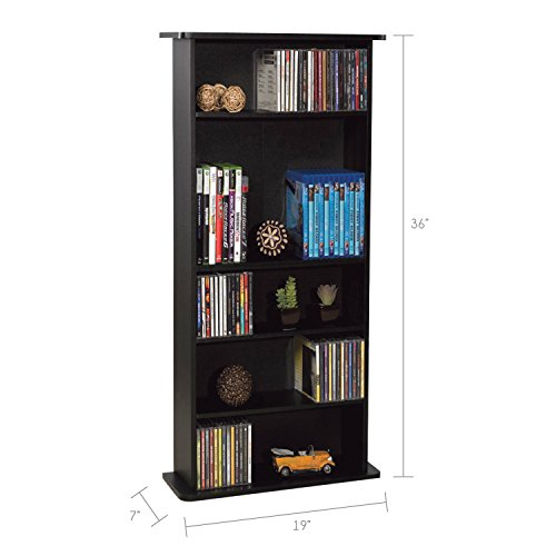 Atlantic Drawbridge Media Storage Cabinet - Store & Organize Via Amazon