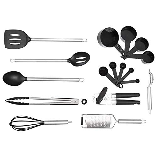 AmazonBasics 17-Piece Tool and Gadget Set Via Amazon