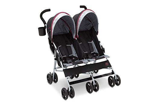 Jeep Scout Double Stroller, Lunar Burgundy Via Amazon