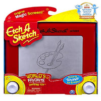 Etch A Sketch, Classic Red Drawing Retro Toy with Magic Screen Via Amazon